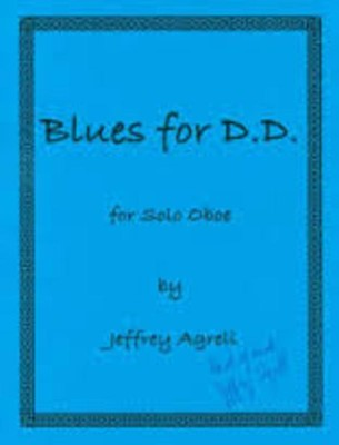 AGRELL - BLUES FOR DD OBOE SOLO