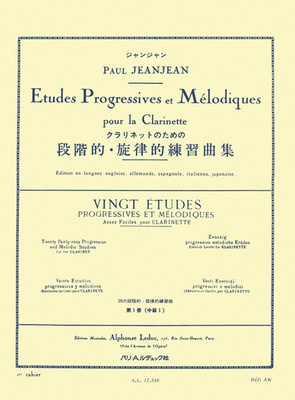 20 Easy Progressive And Melodic Studies Vol 1 Cla