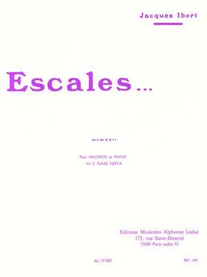 Escales Oboe/Piano