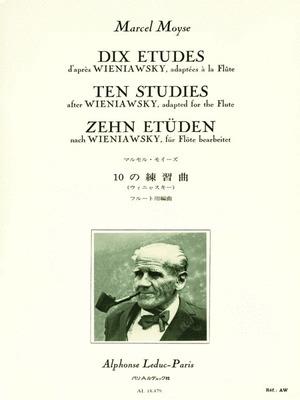 10 Studies From Wieniawsky Flute