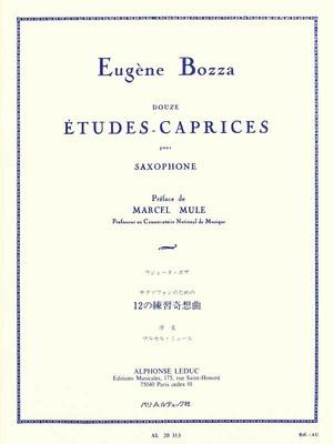 12 Etudes - Caprices Saxophone Solo