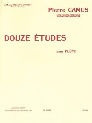 12 Etudes Flute