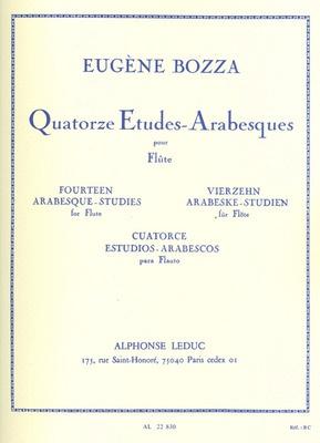 14 Etudes Arabesques for Flute