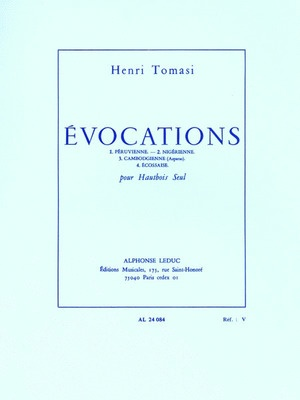 Evocations For Oboe
