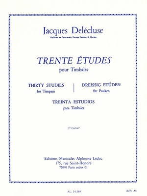 30 Studies for Timpani Vol. 2