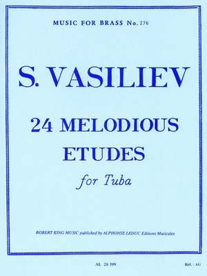 24 Melodious Etudes for Tuba