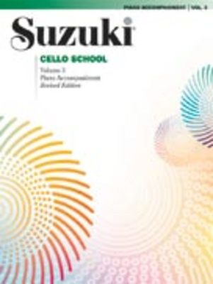 Suzuki Cello School Piano Acc., Volume 3 (Revised)
