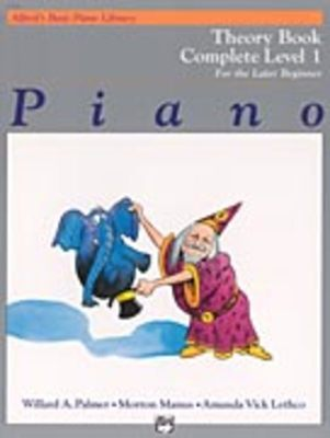 Alfred's Basic Piano Course: Theory Book Complete 1 (1A/1B)