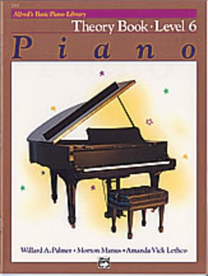 Alfred's Basic Piano Course: Theory Book 6