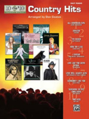 10 for 10 Sheet Music: Country Hits