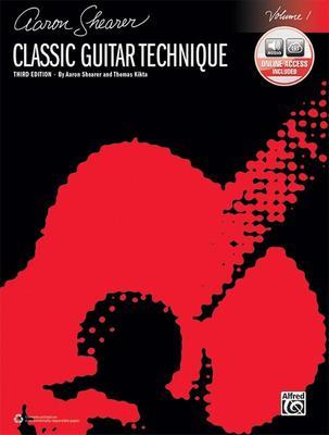 CLASSIC GUITAR TECHNIQUE BK 1 BK/OLA 3RD EDITION
