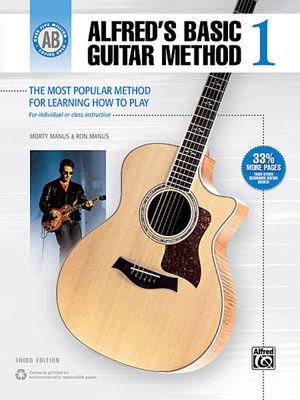 ALFRED's BASIC GUITAR METHOD BK 1 BK/OLM 3RD EDITION