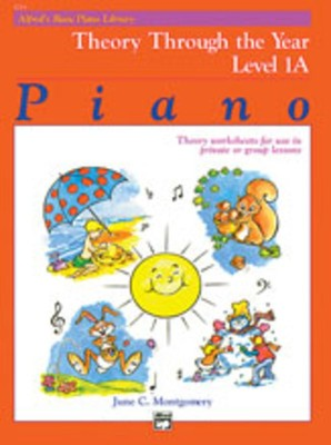 Alfred's Basic Piano Course: Theory Through the Year Book 1A
