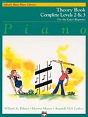 Alfred's Basic Piano Course: Theory Book Complete 2 & 3
