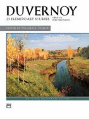 25 Elementary Studies Op. 176