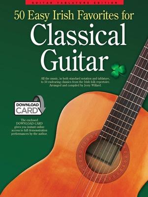50 Easy Irish Favourites for Classical Guitar