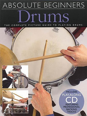 Absolute Beginners - Drums Bk/Cd