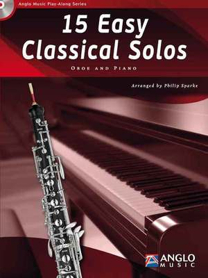 15 EASY CLASSICAL SOLOS OBOE BK/CD