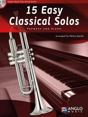 15 EASY CLASSICAL SOLOS TRUMPET BK/CD