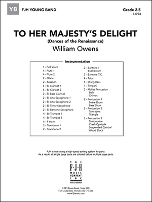 To Her Majesty's Delight