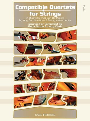 COMPATIBLE QUARTETS FOR STRINGS VIOLIN BK/CD