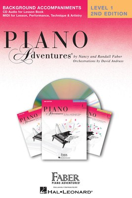 PIANO ADVENTURES LESSON BK 1 CD ONLY 2ND ED