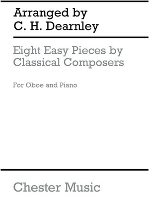 8 Easy Pieces Oboe/Piano Dearnley(Arc)