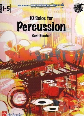 BOMHOF   10 SOLOS FOR PERCUSSION