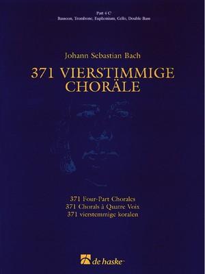371 Four-Part Chorales - Part 4 C' Bass Clef