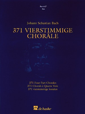 371 Four-Part Chorales - Part 4 C'' Bass Clef