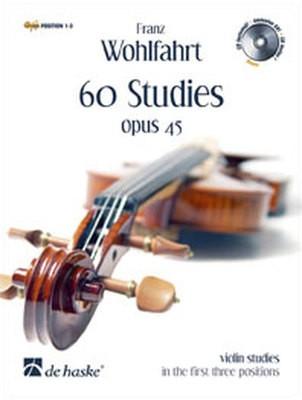 60 STUDIES OP 45 VIOLIN BK/2CDS