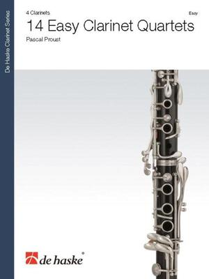 14 Easy Clarinet Quartets