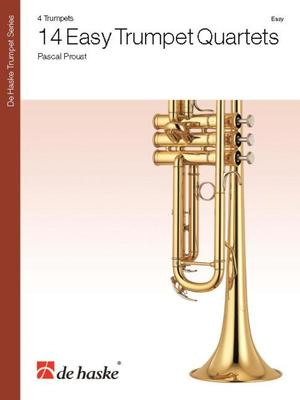 14 Easy Trumpet Quartets