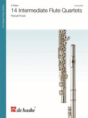 14 Intermediate Flute Quartets