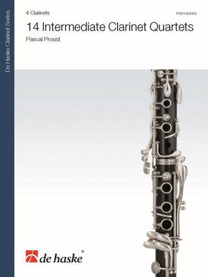 14 Intermediate Clarinet Quartets
