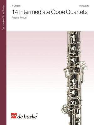 14 Intermediate Oboe Quartets