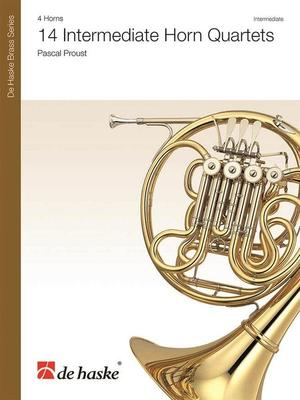 14 Intermediate Horn Quartets