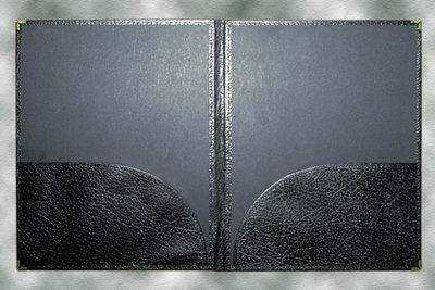 BAND FOLDER 11X14 BLACK