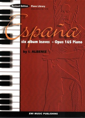 ESPANA 6 ALBUM LEAVES OP 165