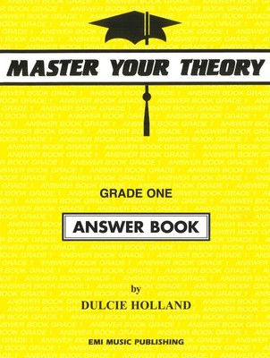 MASTER YOUR THEORY ANSWER BK 1
