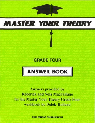 Master Your Theory Grade Four Answer Book