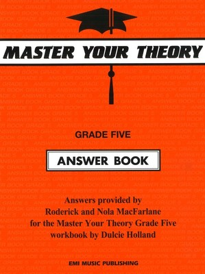 MASTER YOUR THEORY ANSWER BK 5