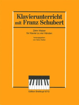 10 Waltzes for Piano Duet