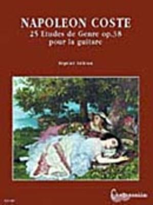 25 Etudes de Genre, Op. 38