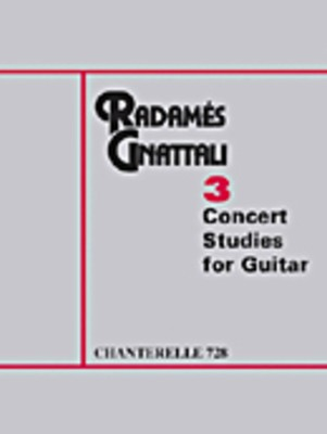 3 Concert Studies for Guitrar