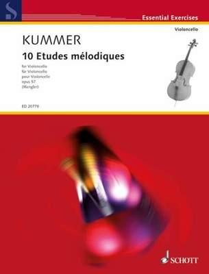 10 Etudes melodiques Op. 57