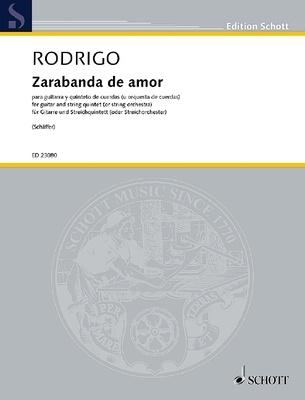 Zarabanda de amor from the ballet Pavana Real