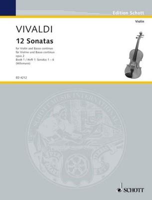12 Sonatas Op. 2 Vol. 1