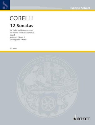 12 Sonatas Op. 5 Book 2 Nos. 7 - 12