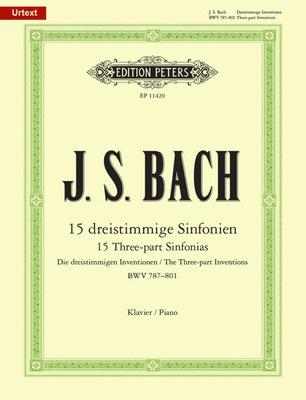 15 Three-part Inventions (Sinfonias)